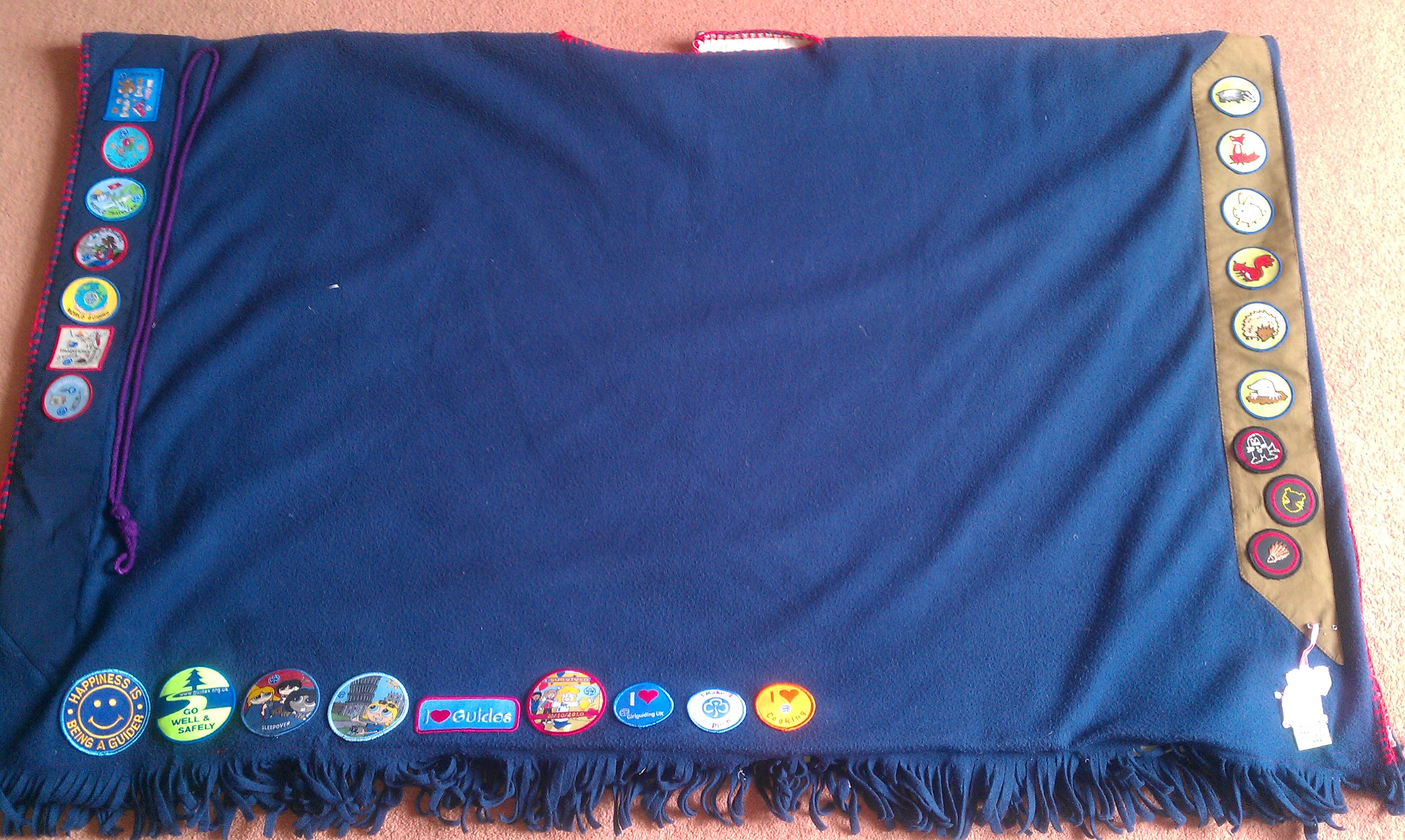 Rosie's Camp Blanket (back)