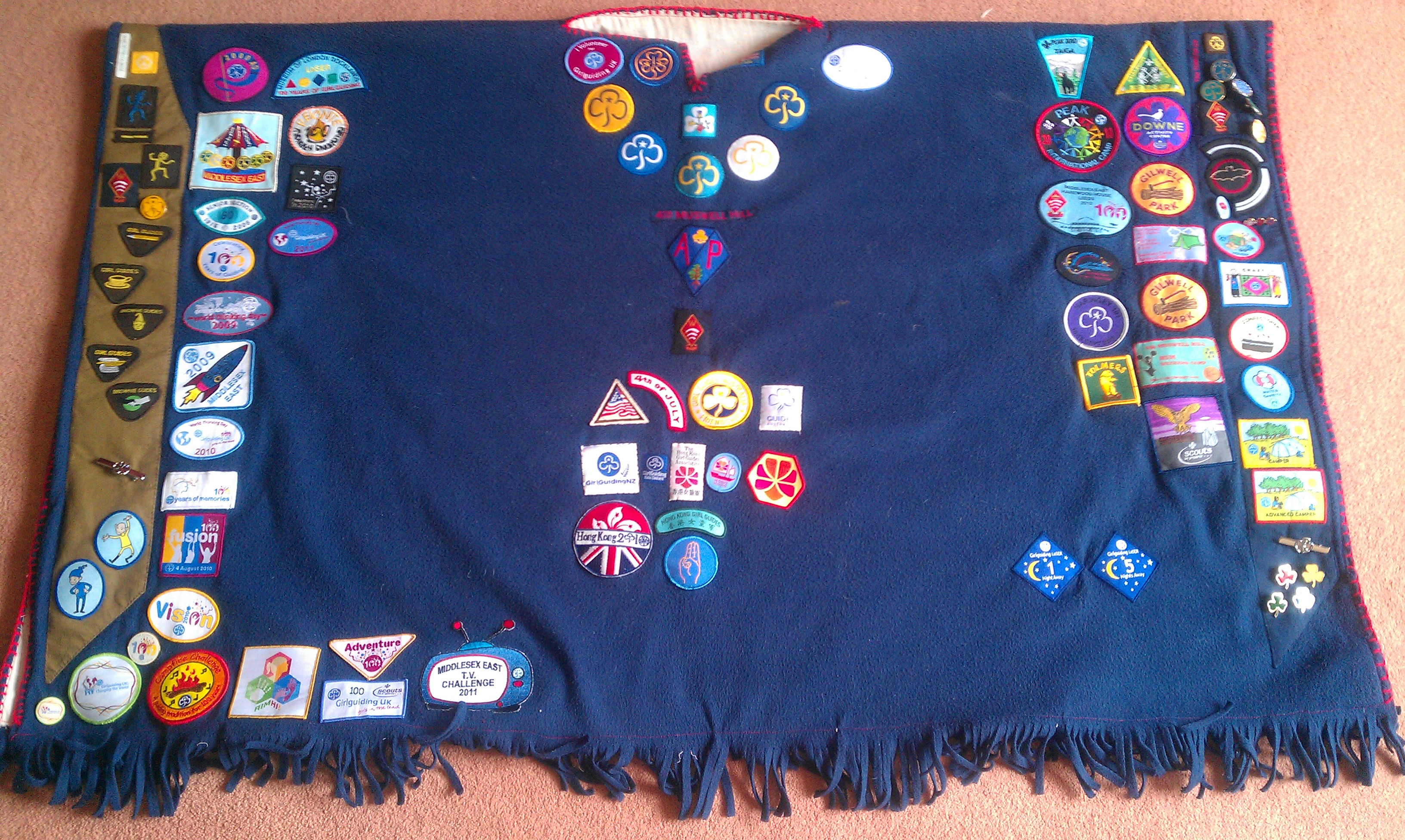 Rosie's Camp Blanket (front)